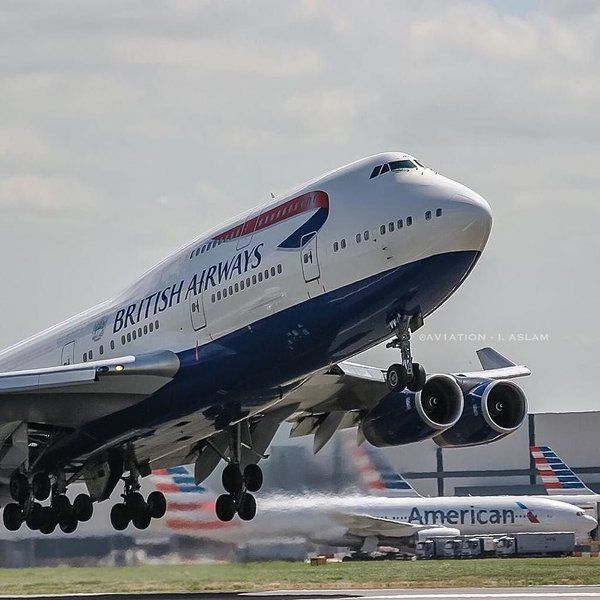 By instaspotter24 on Instagram: Photo by @av1ation British Airways Boeing 747