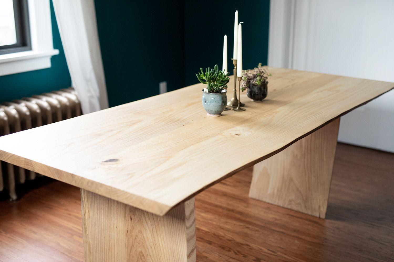 Fort Wayne Dining Tables   Wood slab table, Wood slab ...