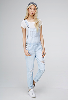 The return of the 90s! Overalls are back in.
