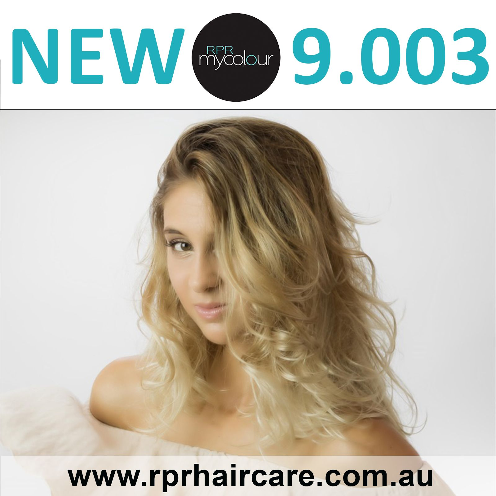 New RPR MyColour tone 9.003. Expanding the possibilities