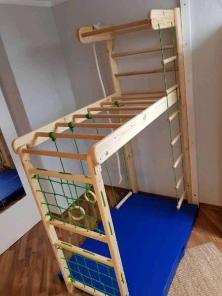 f r kinder und erwachsene braucht nicht viel platz muss. Black Bedroom Furniture Sets. Home Design Ideas