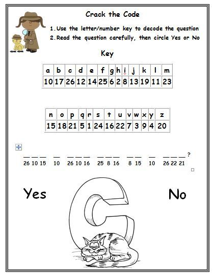 Freebie This Is A Phonics Cryptogram Puzzle In This