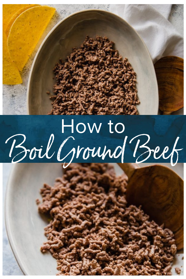 How to Cook Ground Beef (Boiled Ground Beef) #groundbeeftacos