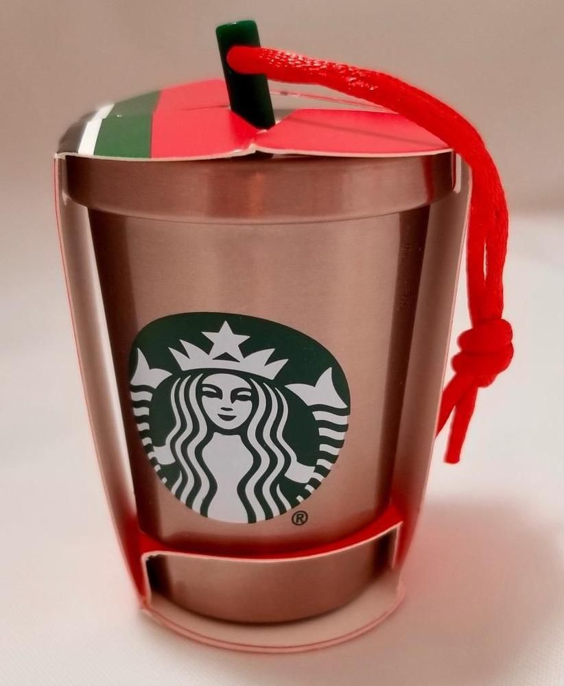 Starbucks Christmas Ornaments 2019 Pin by flo on starbucks ornaments in 2019 | Stainless steel cups