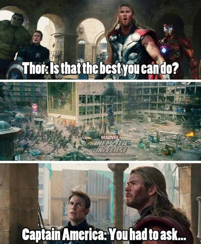 Shut Up Thor Will You Ever Not Ask That Marvel Superheroes Marvel Marvel Jokes