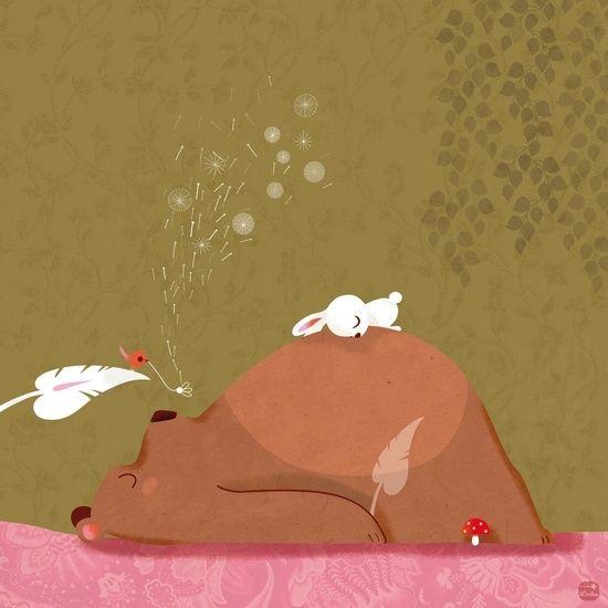 Смешные картинки зайца с медведем, картинки