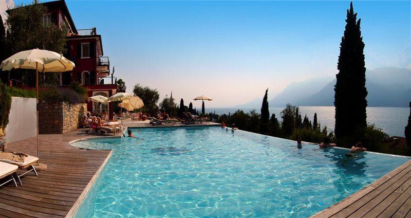 Hotel Swimming Pool Malcesine (Verona) Lake Garda Hotel
