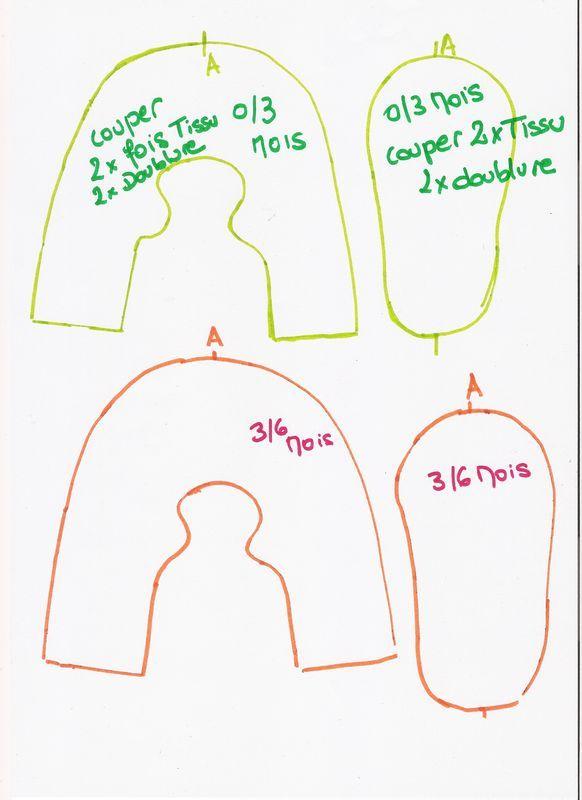 patron chaussons poup e pinterest le patron patron et tout le. Black Bedroom Furniture Sets. Home Design Ideas