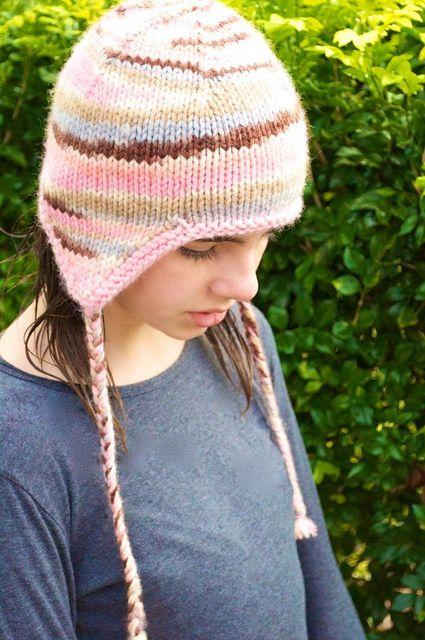 License-free earflap hat pattern by shannon4girls, via ...