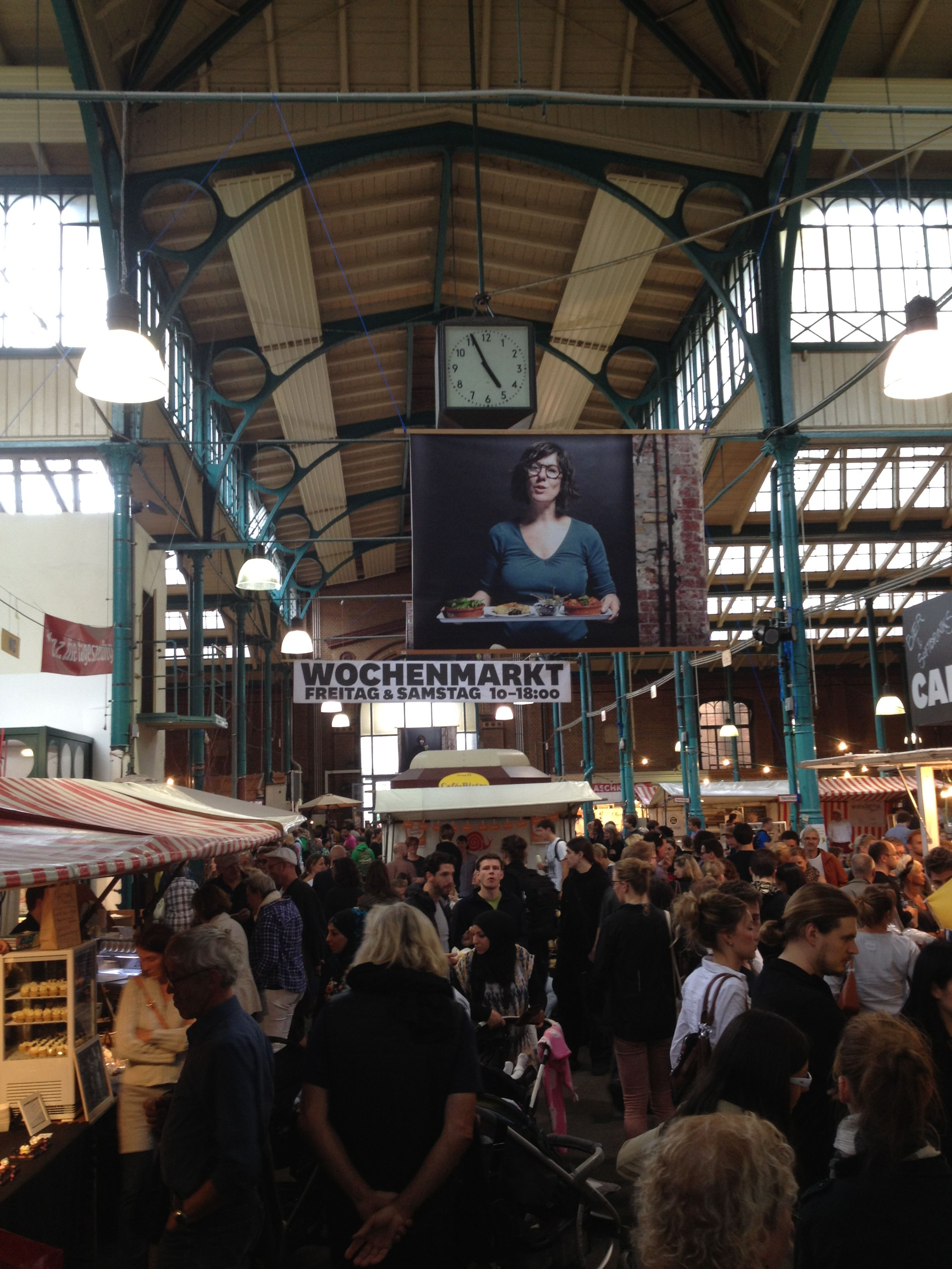 Day 7 Typical Berlin Food Market In Markthalle Neun Today Naschmarkt Sweets Galore 100daydesignchallenge Markthalle Naschmarkt Markthalle Neun