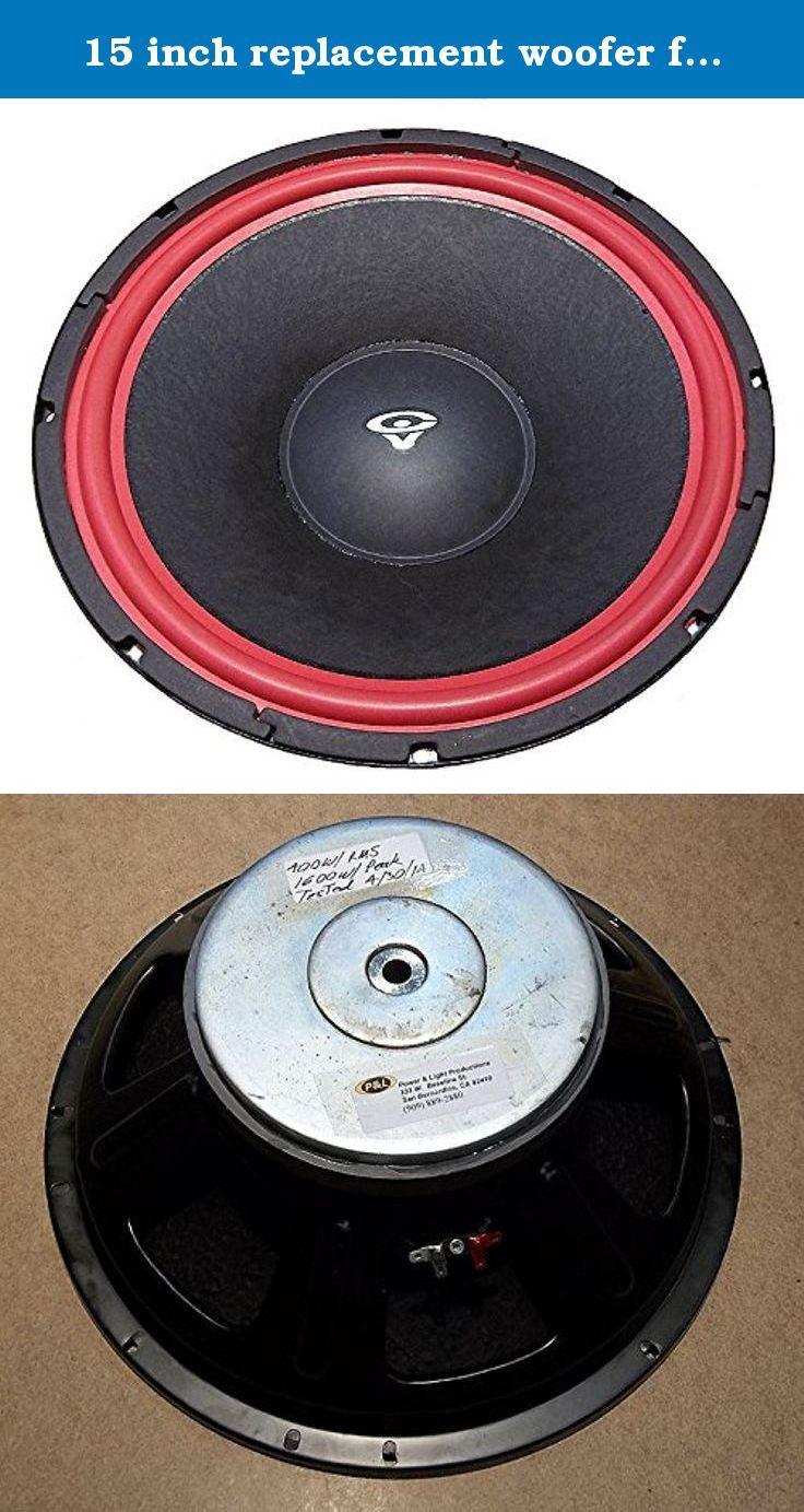 Cerwin Vega Voice Coil Repair