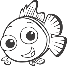 Image Result For Svg Files Free Nemo Coloring Pages Finding