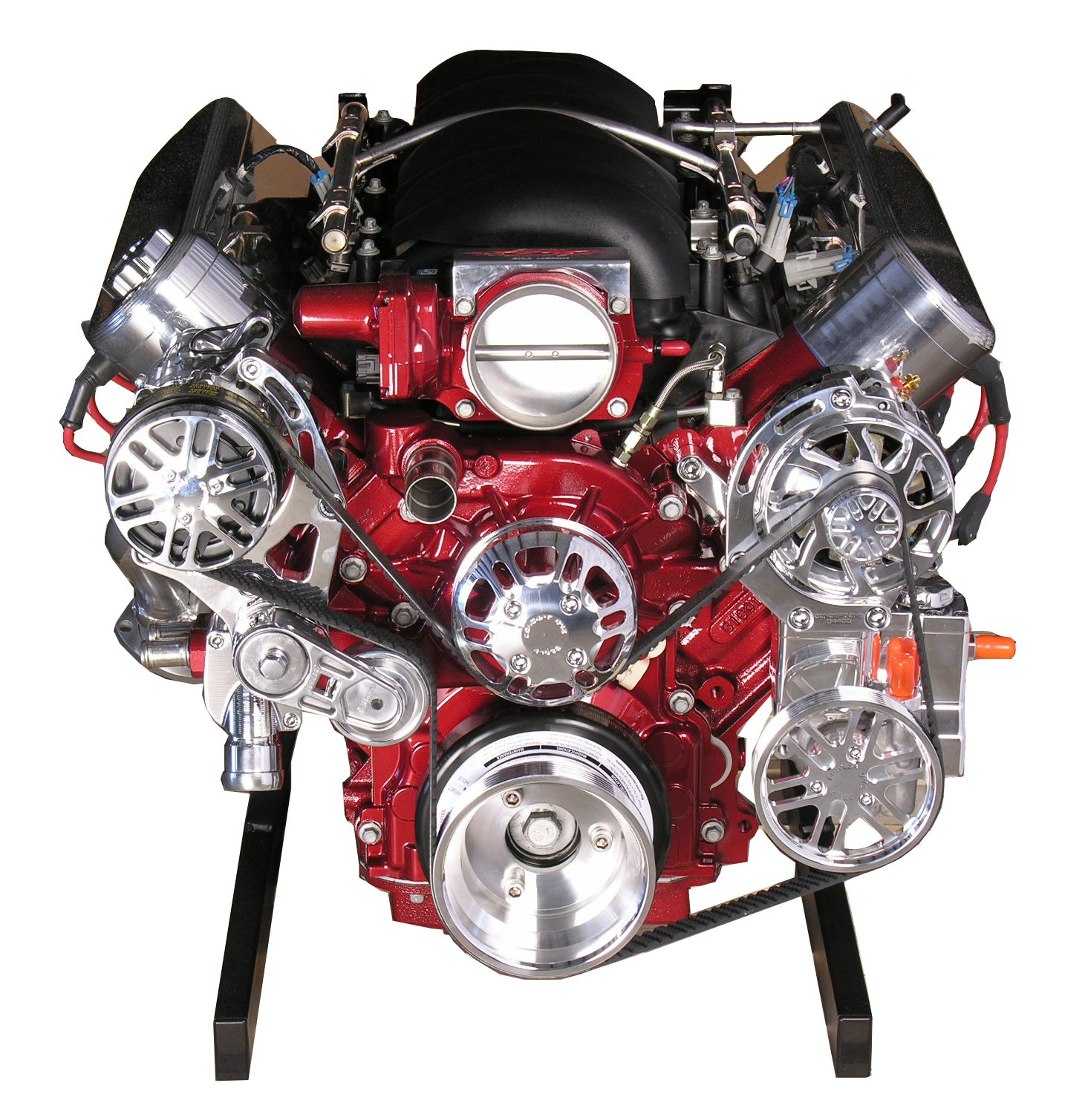 LS3 Engine with 4L80E Transmission 480 HP Deep Red Paint – Ls3 Engine Harness Wiring -diagram