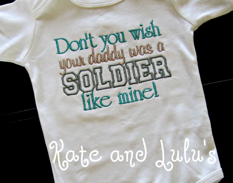 Custom Toddler and infant T-Shirts.