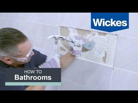 Removing Bathroom Tiles Youtube Tile Bathroom Bathroom Tile Diy Bathroom Wall Tile