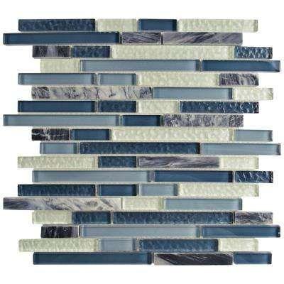 Bath Wall   Blues   Tile   The Home Depot Stein Mosaik Fliesen, Mosaik  Wandfliesen