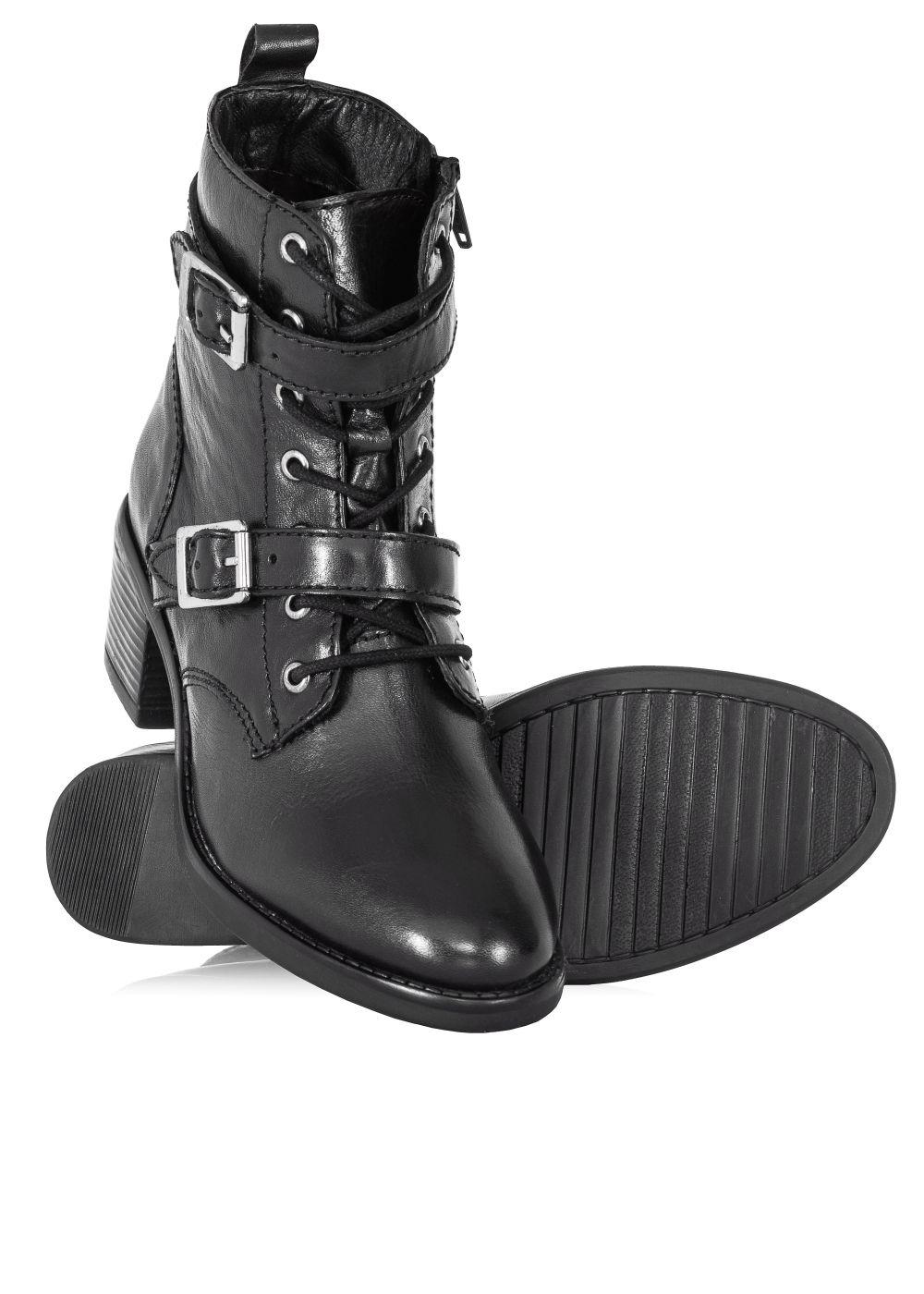 Ochnik Buty Damskie Butyd 0583 99 Z20 Biker Boot Boots Shoes