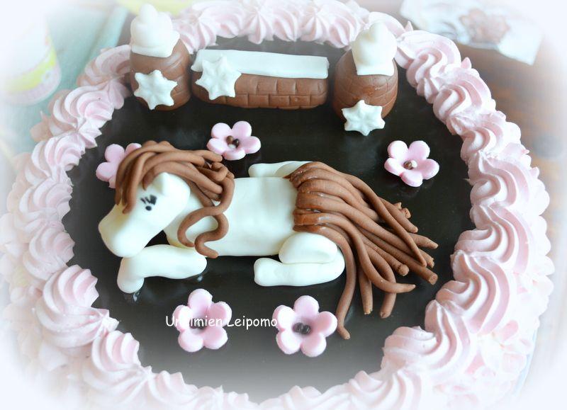 Tyttäreni 10-vuotis kakku