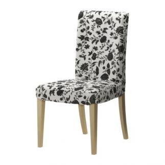 Se venden 4 Fundas sillas, Hovby blanco/negro, IKEA SEGUNDA MANO ...