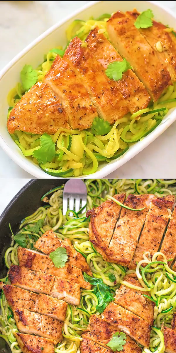 Chicken and Zoodles images