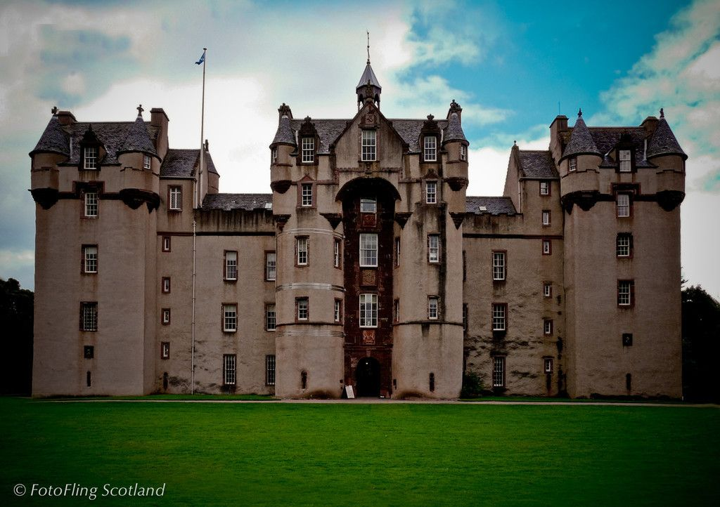 Fyvie Castle Scotland If you smell roses, you'll know that ...