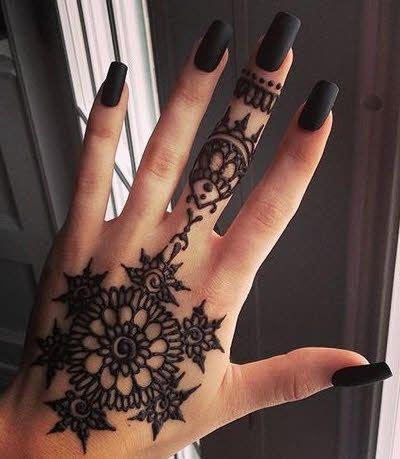 Tatuajes En Mano Para Mujer