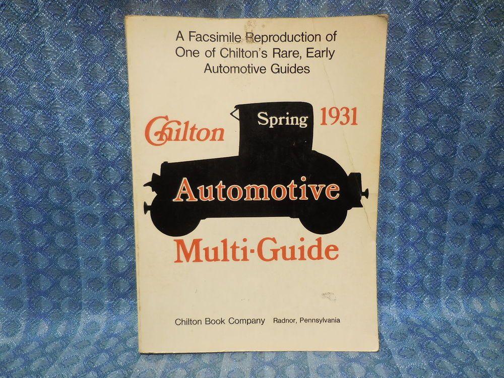 1925 1931 chilton auto parts interchange guide gm ford nash rh pinterest com free auto parts interchange guide Morse Code Reciever Parts Interchange