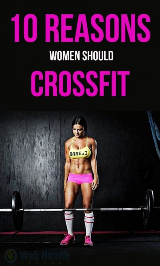10 Reasons Women Should Cross Fit. Cross Fit is concentrated; it is not easy but full of fun. There...