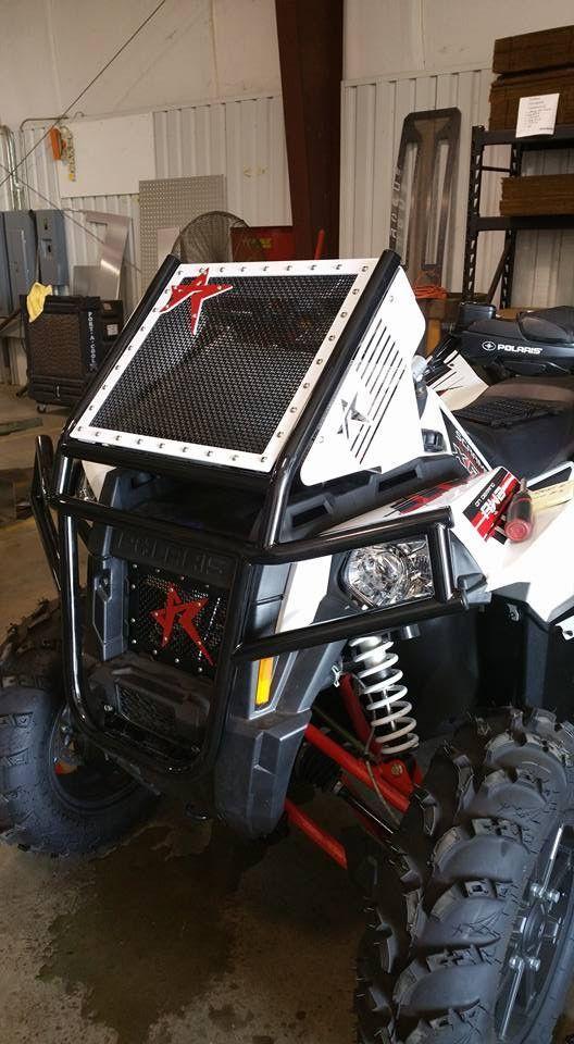 Polaris Scrambler 850 1000 Bumper Radiator Relocate
