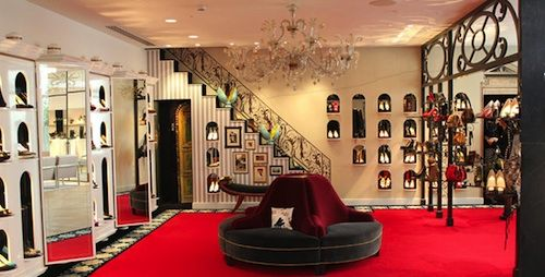 liste boutique louboutin paris