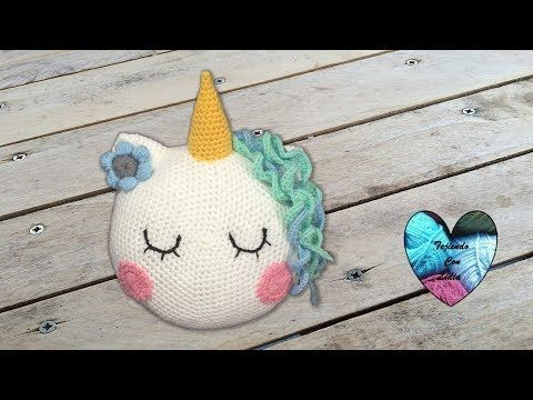 Amigurumi Unicornio Tutorial : Tutorial lápiz unicornio tejido a crochet youtube amigurumis