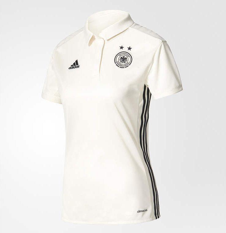 Camisas da seleção feminina da Alemanha 2017 Adidas Eurocopa ... 6823c7c3ec1fd