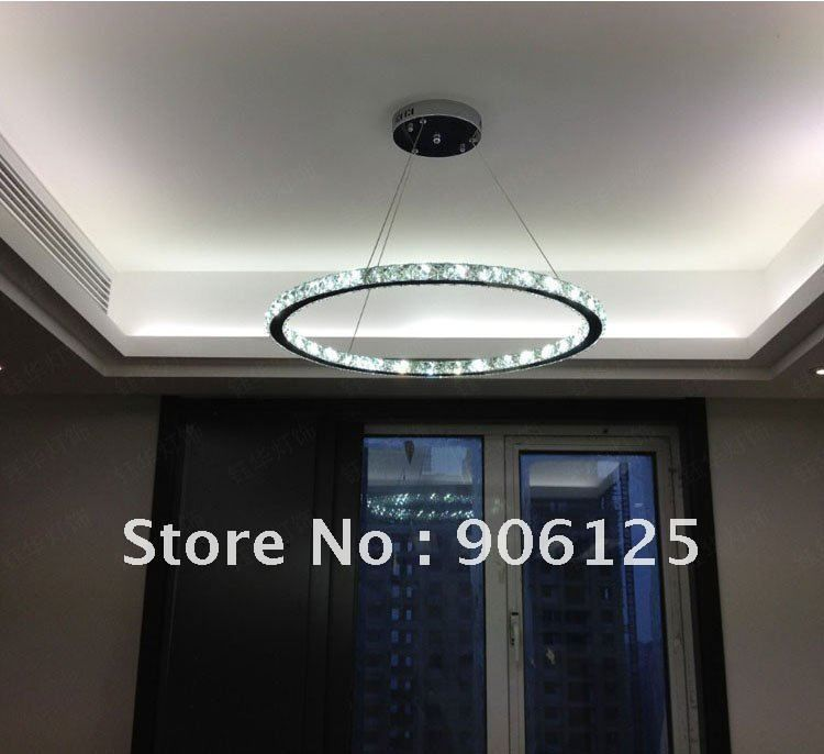 "40""D - Modern Raimond Round LED Crystal Chandelier Light Lamp Fixture   Guaranteed100%+Free shipping! on AliExpress.com. $900"