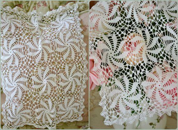 Beautiful Vintage Crochet Lace Doilies   Pinterest   Tapetes de ...