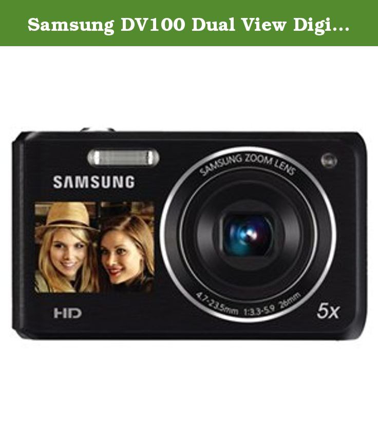 samsung dv100 dual view digital camera black this item was tested rh pinterest com Samsung 16 1 DV100 Images Samsung DV101