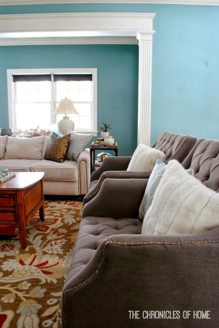 The Chronicles of Home: Oversized Grey Tufted Armchairs