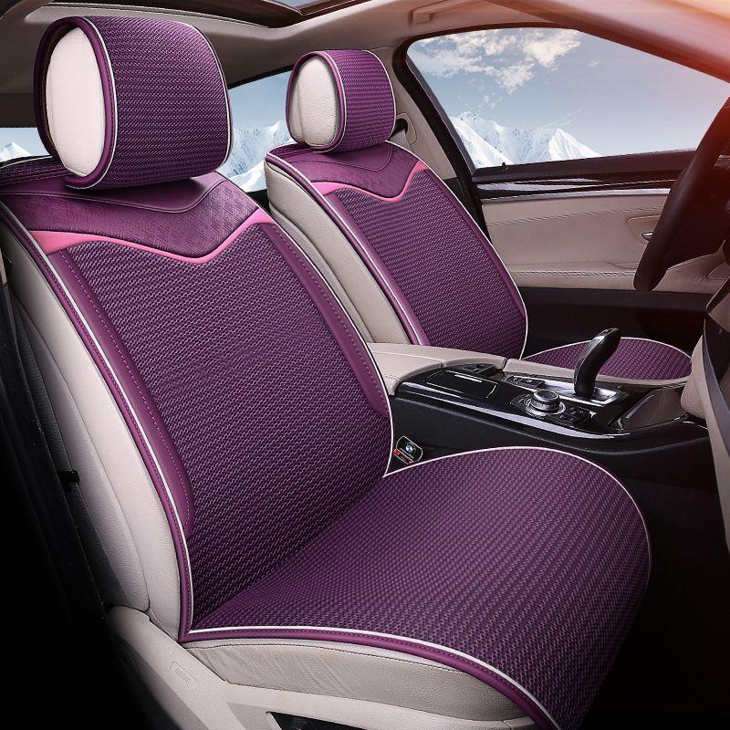 Dimensional fabric car cushions free bundle car