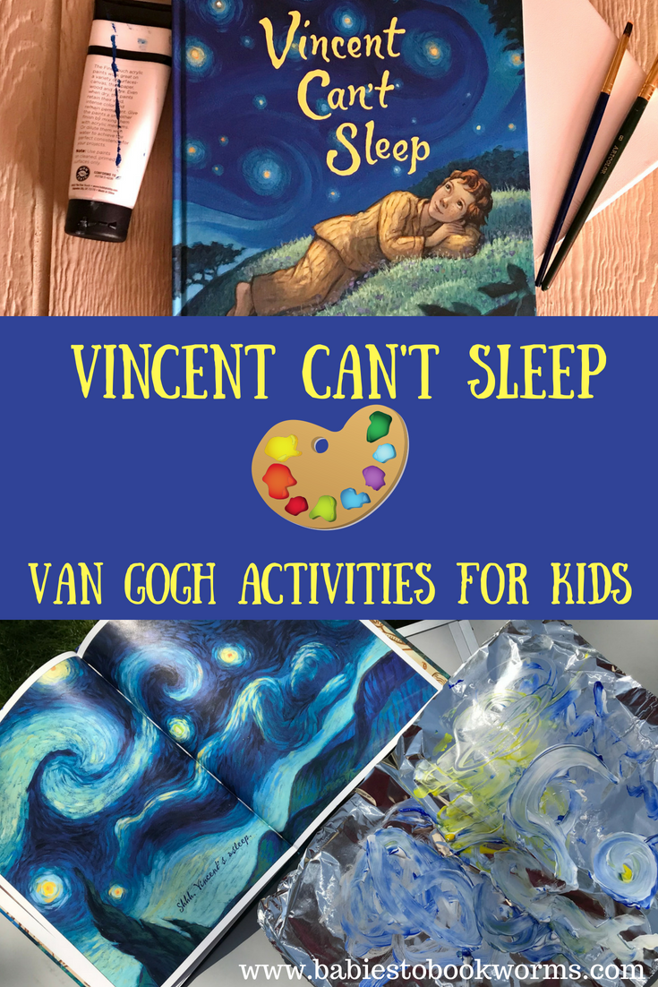 Van Gogh Activities For Kids Best Crafts For Kids Projects For