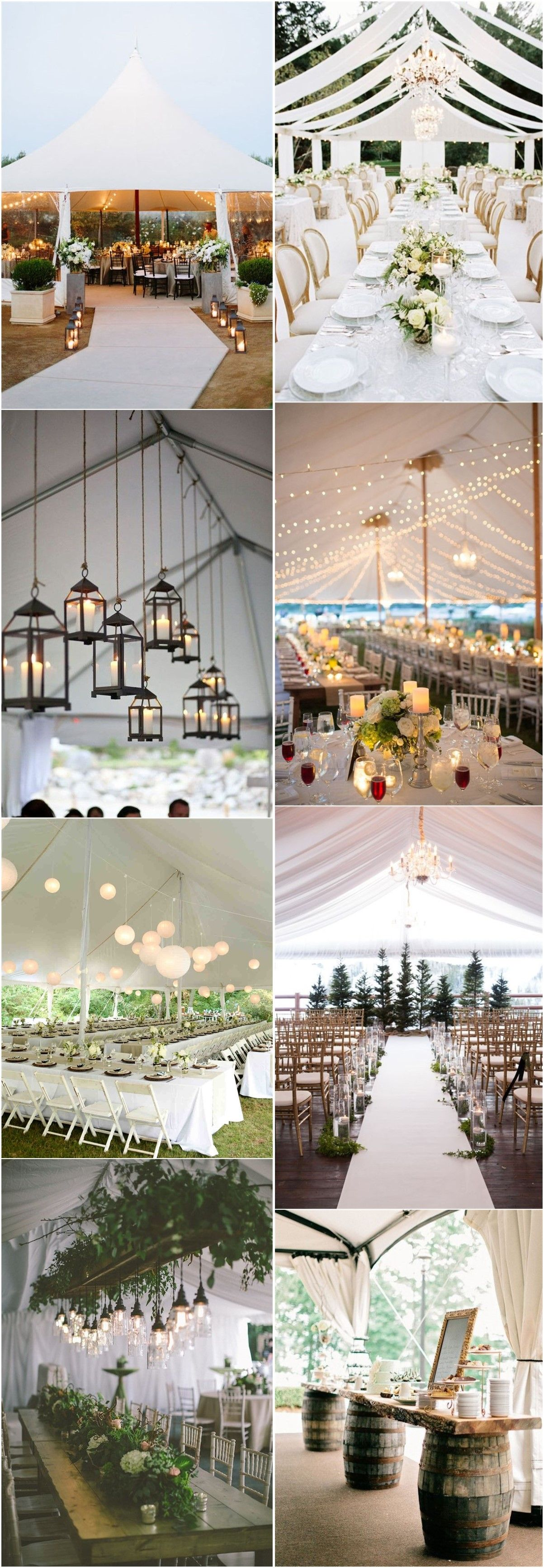 Wedding tent decoration images   Outdoor Wedding Tent Decoration Ideas Every Bride Will Love