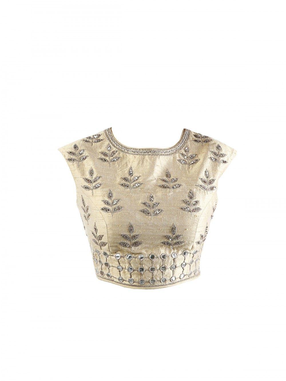 Anita Dongre - Gold Choli | Blouse Patterns | Pinterest | Ropa ...