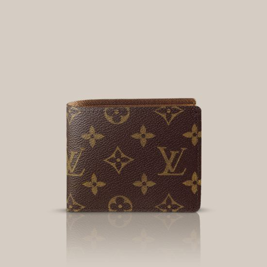 Billfold with 9 Credit Card Slots via Louis Vuitton