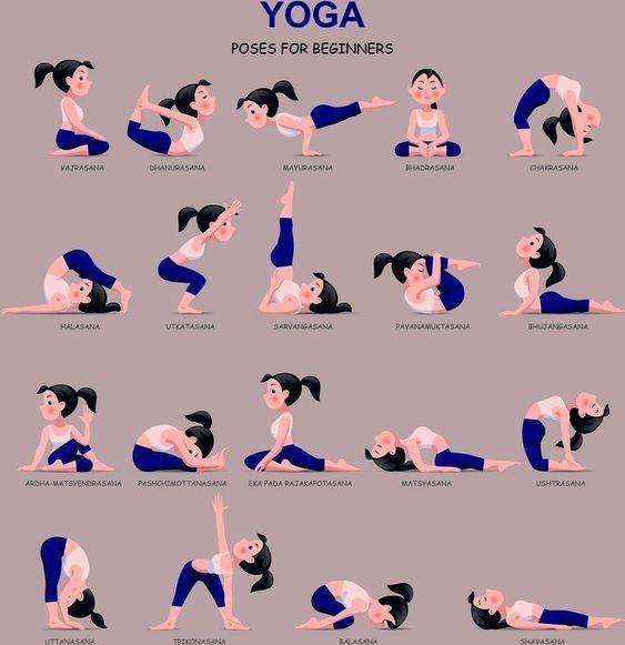 Yoga Poses For Beginners - Yoga fitness - #Beginners #fitness #Poses #Yoga