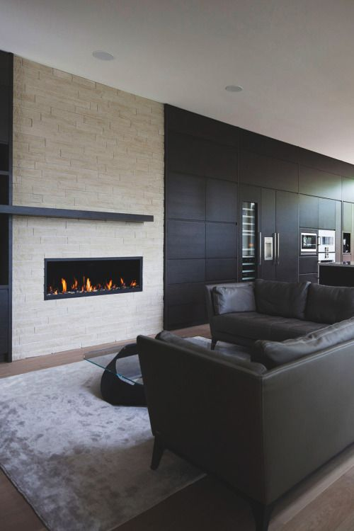 Fireplace Architecture Interior Design Wall Mount Electric