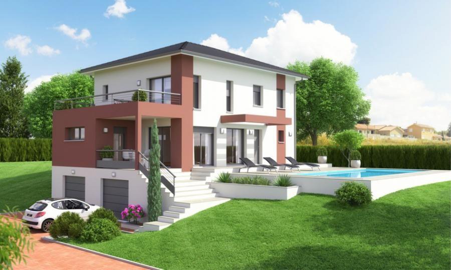 Pingl par a2p tuquet sur maison for Terrasse moderne contemporain