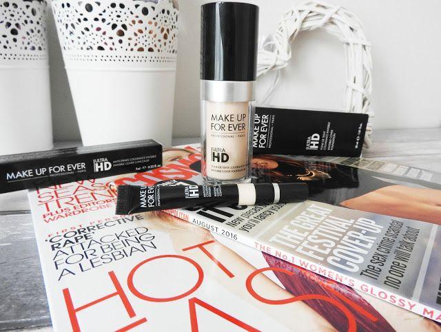 Make Up Forever HD Foundation and Concealer