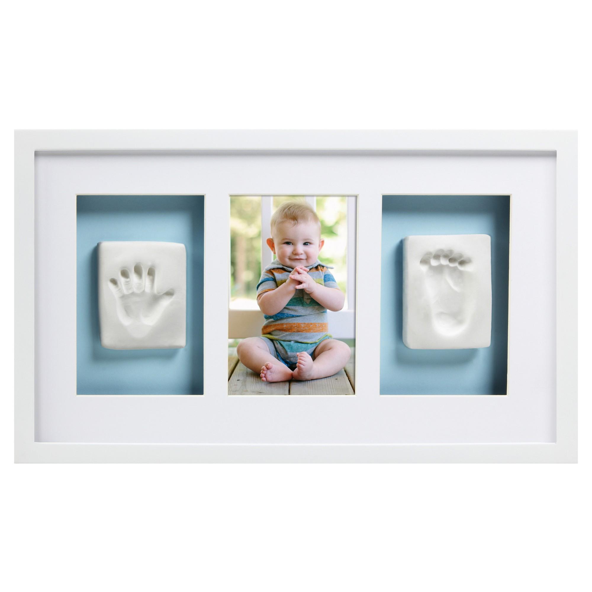 Babyprints Baby Handprint and Footprint Photo Frame Kit