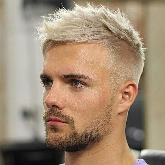 The Best Men Hairstyles For Thin Hair Cool Hairstyles Bleached