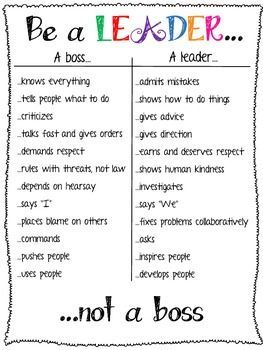 Be A Leader Not A Soft Skills Http Softskillsvelda Blogspot Com Teaching Leadership School Counseling