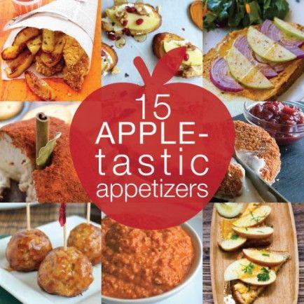 15 Apple-tastic Appetizers!