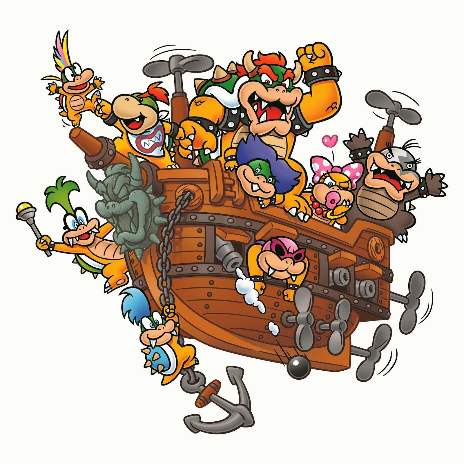 O Chan S Blog Of Protoculture Super Mario Bros Art Style Retrospective Part 3 The Mario Franchise Then And Now Mario Art Mario Super Mario